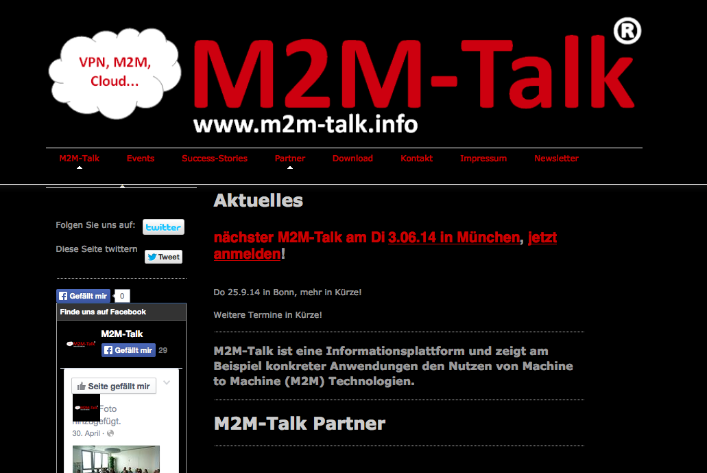 M2M Talk 2014 - Schildknecht AG
