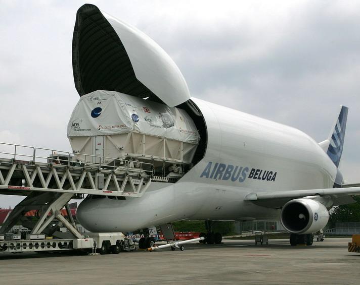 Weltraumlabor Columbus verladen - Schildknecht AG
