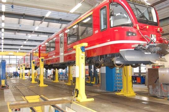 Dataeagle für Zug Hebeanlage - Schildknecht AG