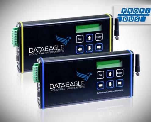 DATAEAGLE 3000 Classic • Wireless PROFIBUS • Kabelloses Funkmodul zur sicheren Datenübertragung von PROFIBUS und PROFIsafe