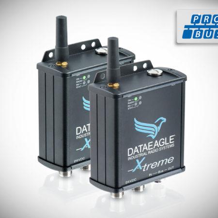 DATAEAGLE 3000 X-treme • Wireless PROFIBUS • Datenfunkmodem für die kabellose Übertragung von PROFIBUS und PROFIsafe