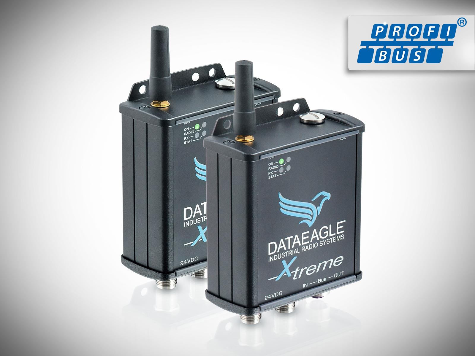 DATAEAGLE 3000 X-treme • Wireless PROFIBUS • Kabelloses Funkmodul zur sicheren Datenübertragung von PROFIBUS und PROFIsafe