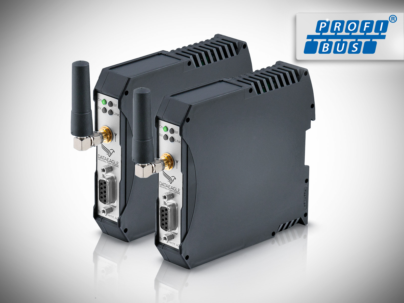 DATAEAGLE 3000 Compact • Wireless PROFIBUS • Kabelloses Funkmodul zur sicheren Datenübertragung von PROFIBUS