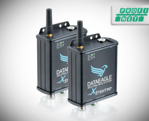 DATAEAGLE 4000 X-treme • Wireless PROFINET • Datenfunkmodem für die kabellose Datenübertragung von PROFINET und PROFIsafe