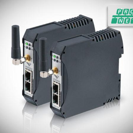 DATAEAGLE 4000 Compact • Wireless PROFINET • Datenfunkmodem für die kabellose Datenübertragung von PROFINET und PROFIsafe