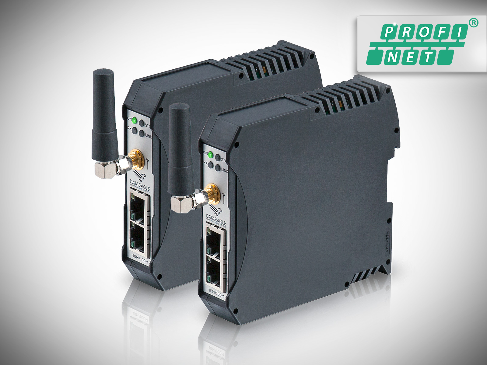 DATAEAGLE 4000 Compact • Wireless PROFINET • Datenfunkmodem für die kabellose Datenübertragung von PROFINET