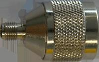Adapter - Stecker N auf Buchse SMA - Schildknecht AG