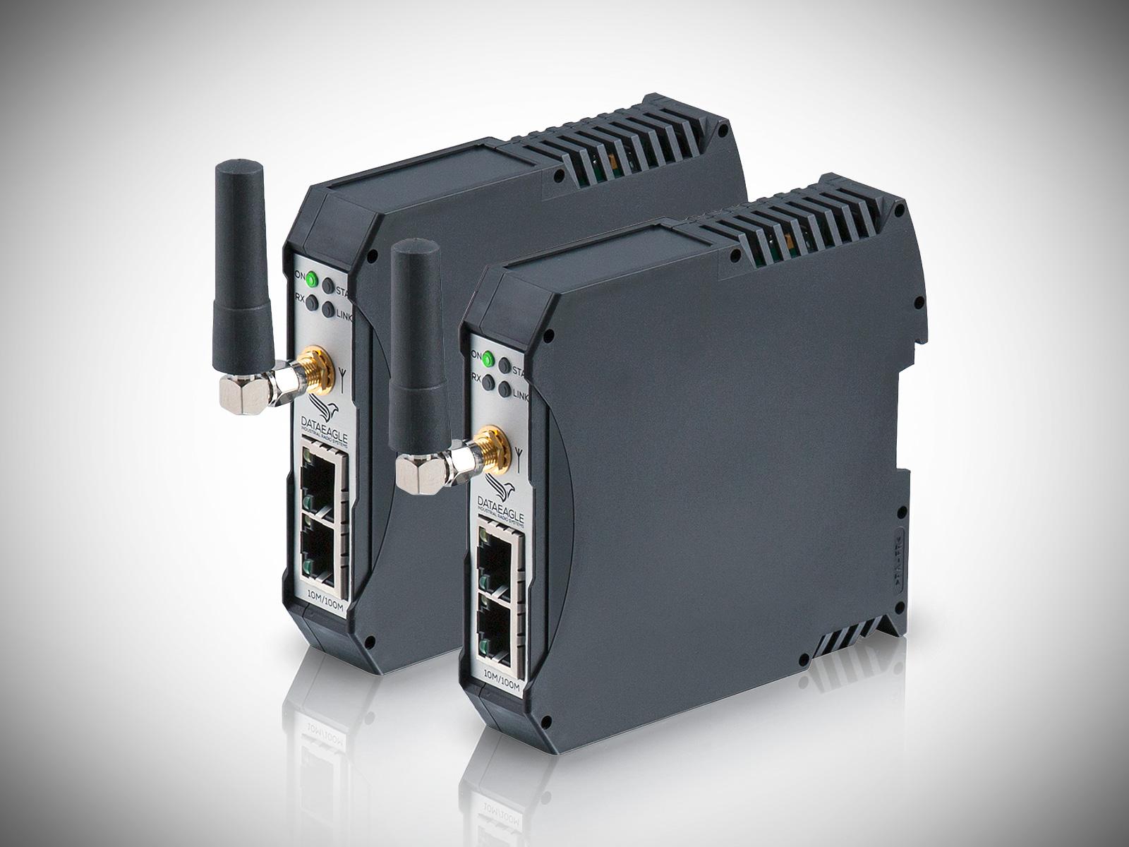 DATAEAGLE 2000 Compact • Kabelloses Funkmodem zur Datenübertragung von IO Signalen bis in die Steuerung (MPI, Profibus, Ethernet Profinet IO, 3964R, L1 zur Simatic S5, CAN)