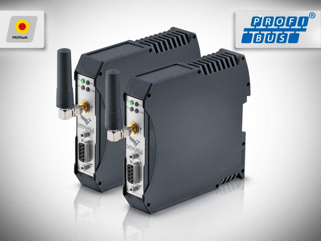 DATAEAGLE 3000 Compact • Wireless PROFIBUS • Kabelloses Funkmodul zur sicheren Datenübertragung von PROFIBUS und PROFIsafe