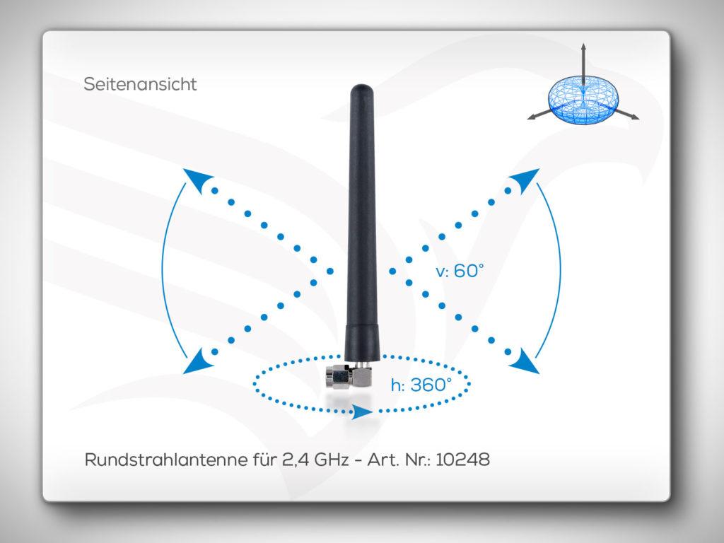 Rundstrahlantenne 2,4 GHz Art. Nr.: 10248