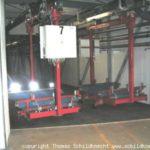 Elektrohängebahnen: entgegengesetzte Fahrrichtung