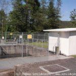 Kraftwerk Obernburg Wehransicht
