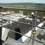 Kraftwerk Obernburg Funkstrecke Turmansicht