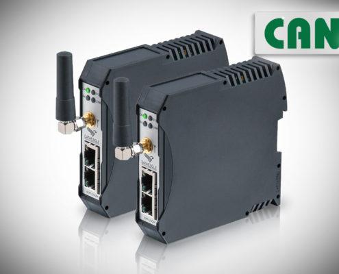 DATAEAGLE 6000 Compact • Industrial Wireless CAN • Funkmodem für die drahtlose Datenübertragung von CAN