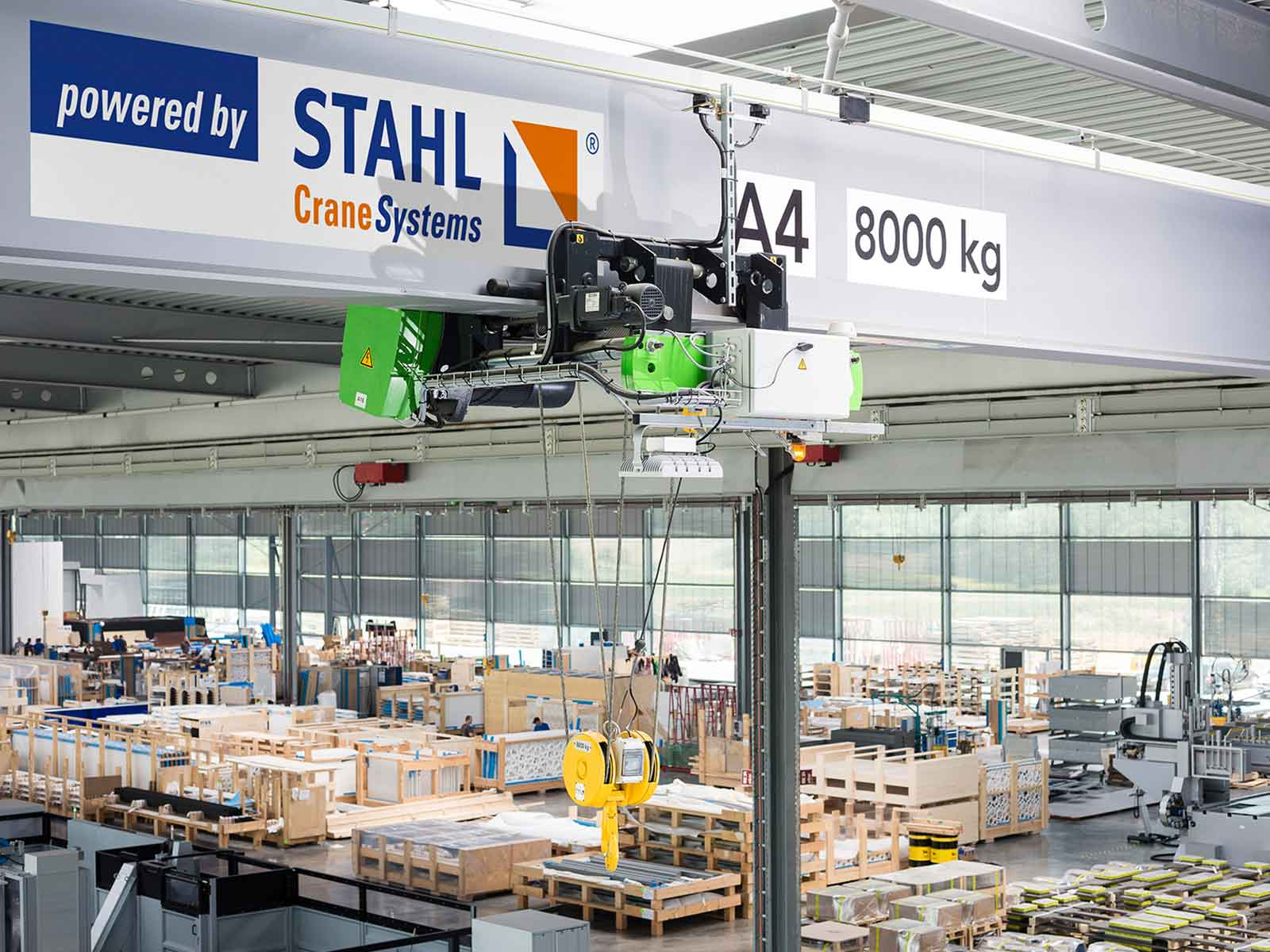 STAHL CraneSystems: Remote Monitoring of Cranes and Hoists with DATAEAGLE