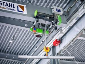 Monitoring Krane und Hebezeuge bei STAHL CraneSystems