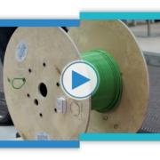 Die intelligente Kabeltrommel auf der HMI 2019 • Das Highlight der Hannover Messe 2019 war die Intelligente Kabeltrommel. Sie ist ein Proof of Concept mit dem Kabelhersteller LAPP und hat bei den Besuchern großes Interesse geweckt.