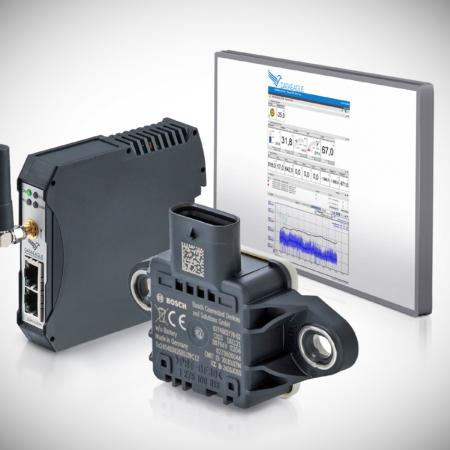 DATAEAGLE Condition Monitoring System - Datenfunkmodem, Bosch Multisensor und DATAEAGLE Portal für die Fernüberwachung von Motoren und Maschinen