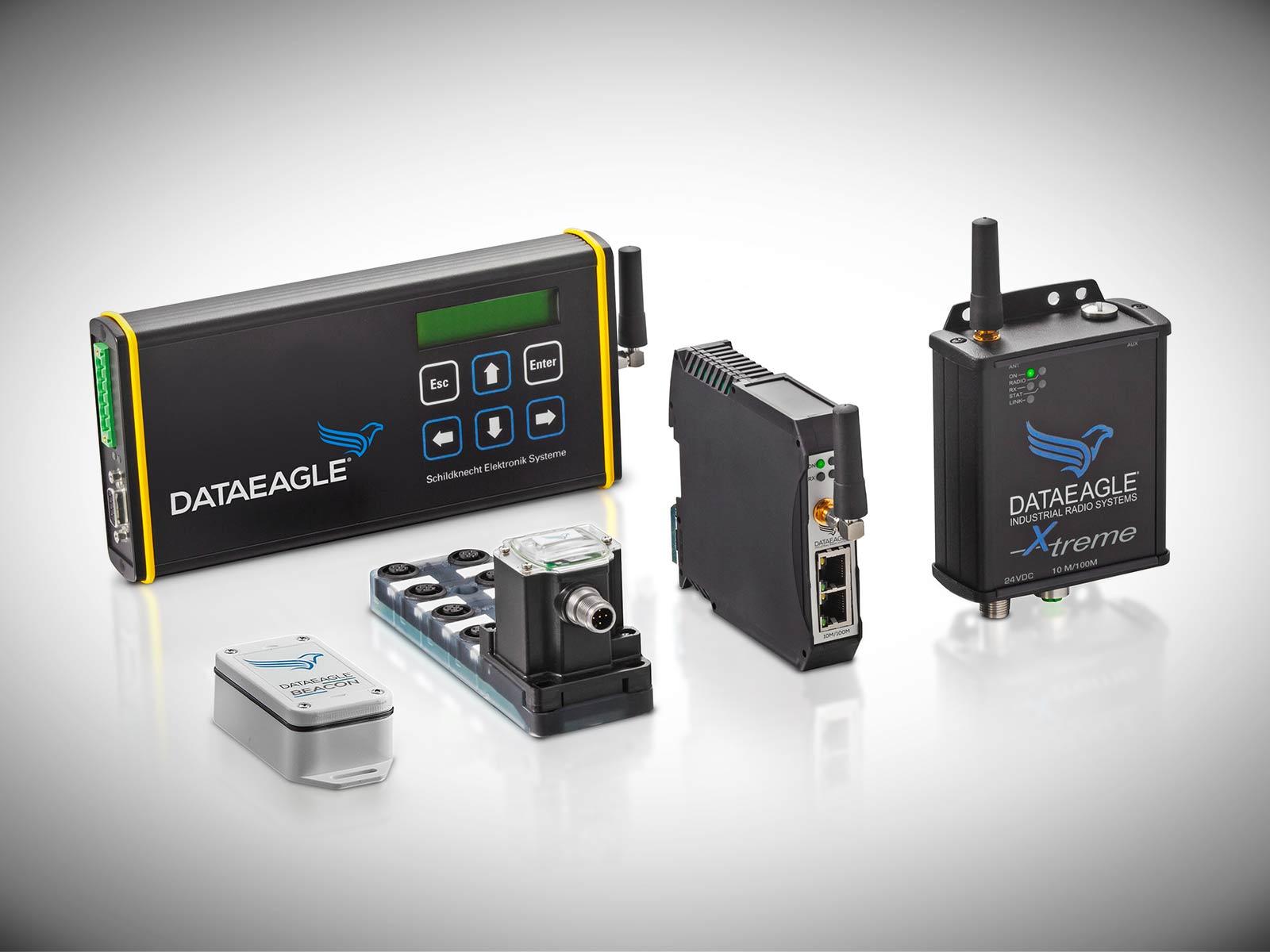 Industrial wireless - Die Schildknecht AG ist Hersteller von Funktechnik für den industriellen Einsatz. Sichere und zeitgenaue Übertragung von Daten bei großen Temperaturunterschieden.