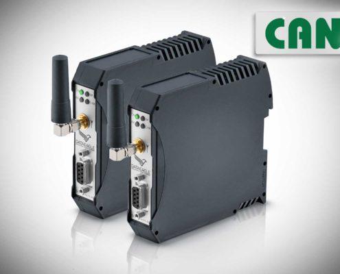 Industrial Wireless CAN • DATAEAGLE 6000 Compact • Funkmodem für die drahtlose Datenübertragung von CAN