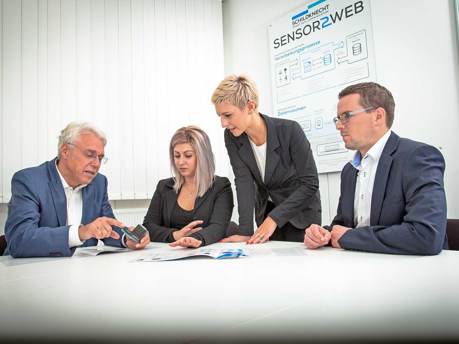 Schildknecht AG • Entwicklung Industrie Datenfunksysteme