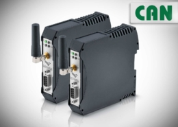 Wireless CAN • DATAEAGEL 6000 is the data radio system for reliable transmission of CANbus.