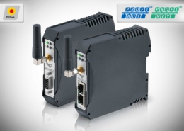 Wireless PROFIsafe • DATAEAGLE 3000 (PROFIBUS) und 4000 (PROFINET) Compact • Kabelloses Datenfunksystem zur sicheren Datenübertragung von PROFIsafe