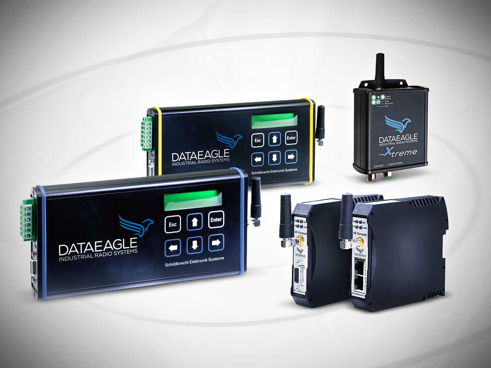 Industrial Wireless ((•)) Datenfunk mit DATAEAGLE