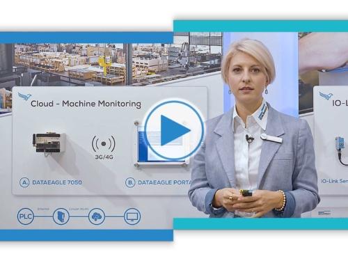 Machine Monitoring • Krananlagen und Hebezeuge weltweit vernetzt • SPS 2019