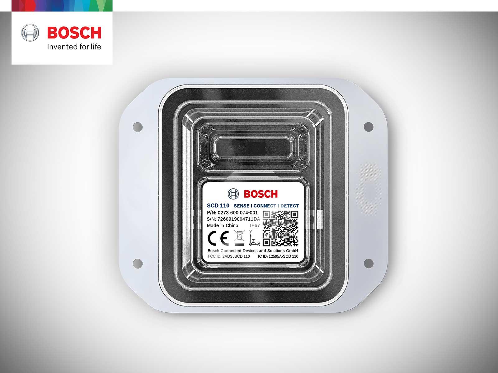 SCD - Sense, Connect, Detect - Bluetooth Sensor Bosch