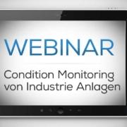 Webinar / Vortrag Sensor+Test zum Thema Condition Monitoring von industriellen Anlagen