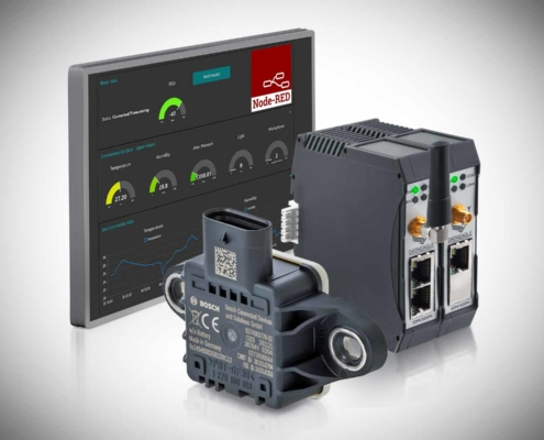 IoT Ready-to-use System für die Zustandsüberwachung DATAEAGLE Condition Monitoring System Local Dashboard