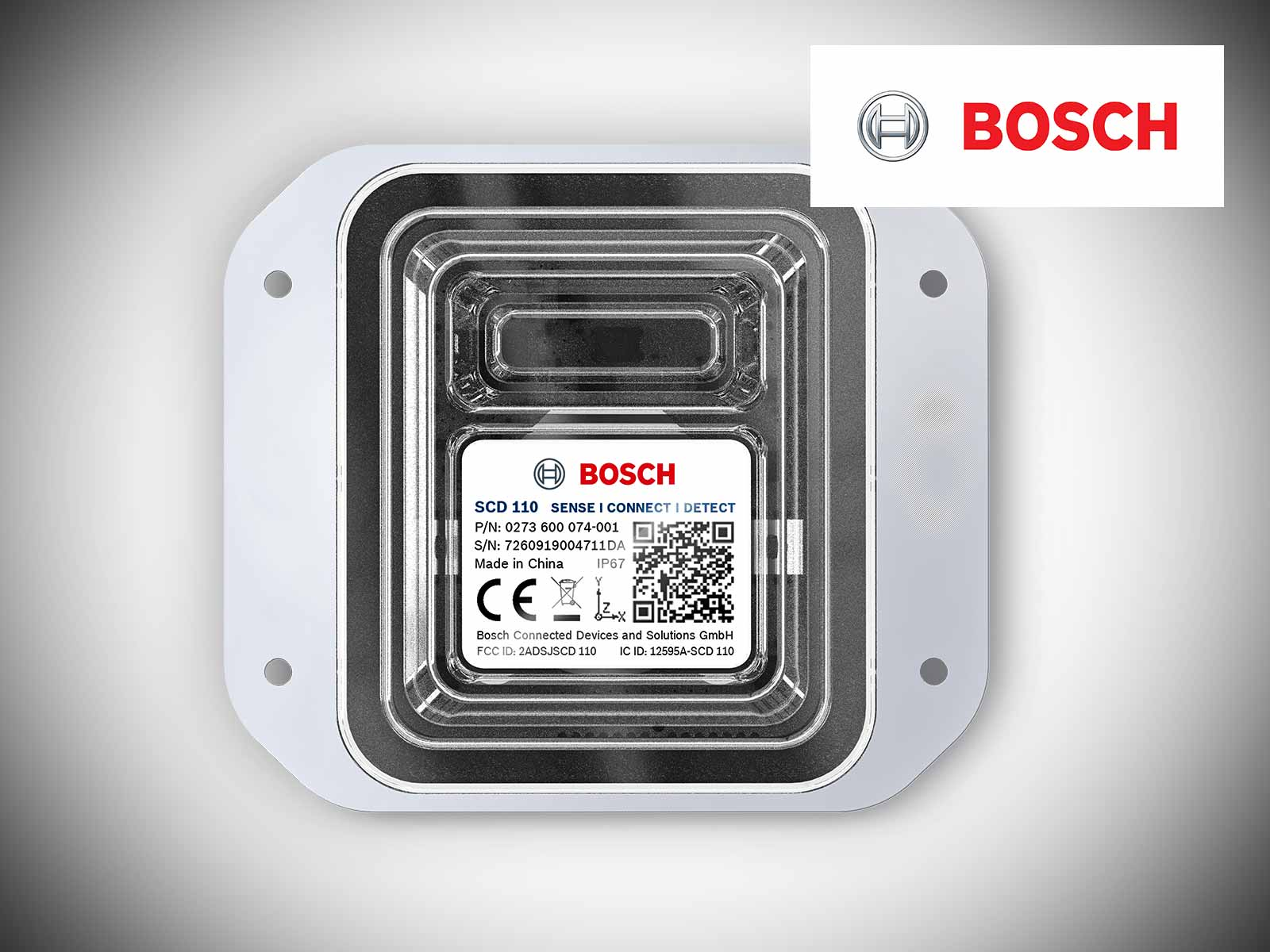 SCD - Sense, Connect, Detect - Bluetooth Sensor Bosch