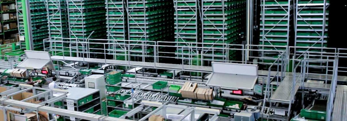 Condition Monitoring bei Motoren • Logistikzentrum Murrelektronik