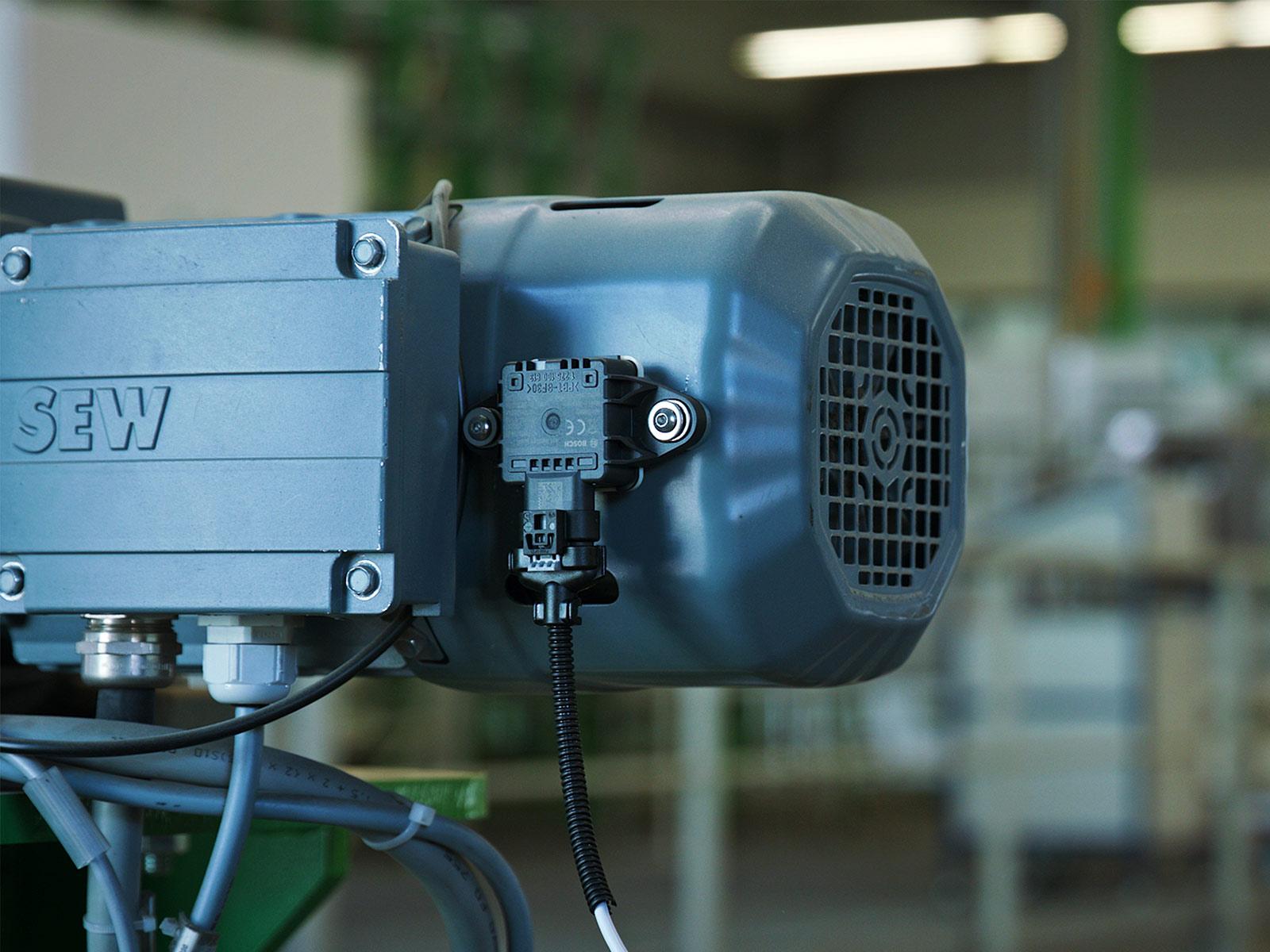 Applikation: Condition Monitoring im Logistikzentrum Murrelektronik