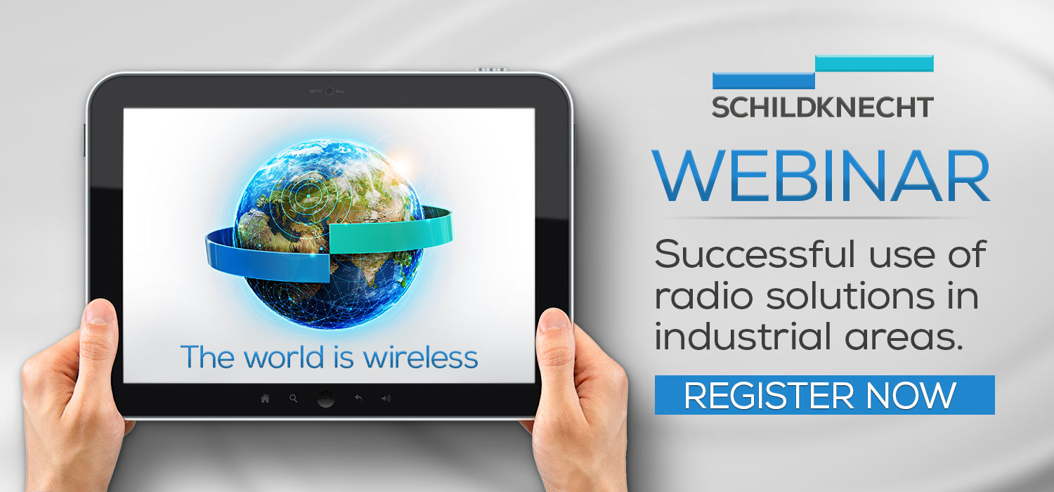 Webinar Industrial Wireless - Schildknecht AG