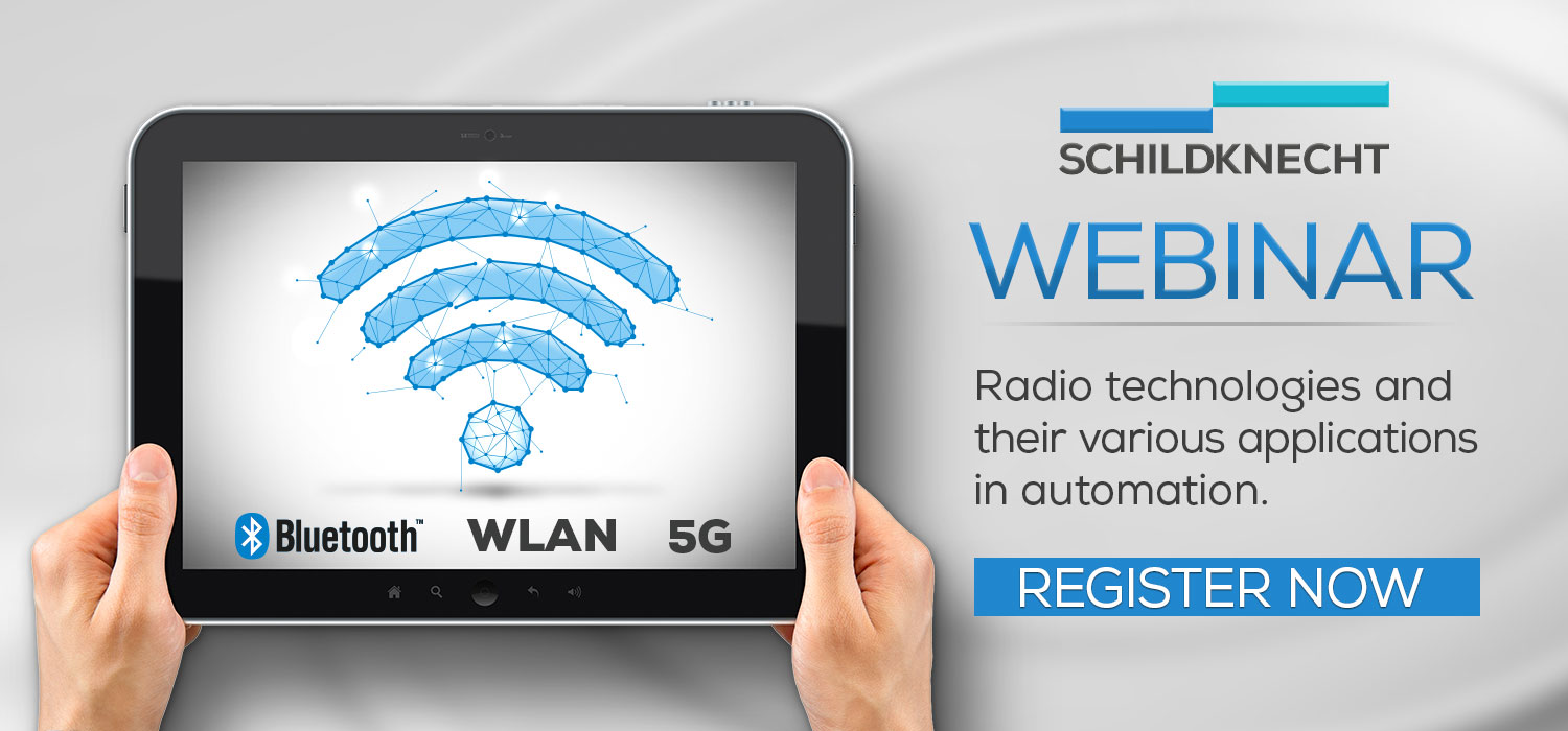 Webinar Industrial Wireless - Schildknecht AG - Radio Technologies Bluetooth WLAN and 5G