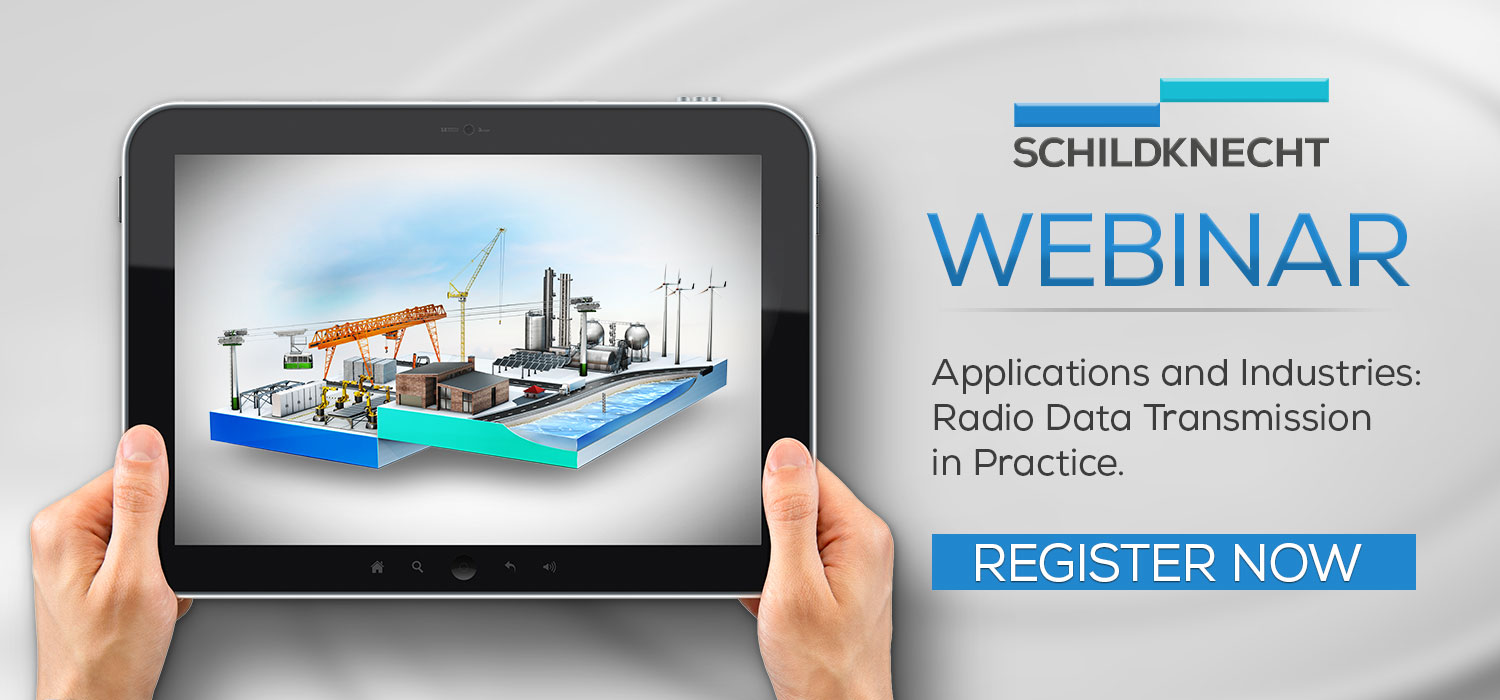 Webinar Industrial Wireless - Schildknecht AG - Application stories and projects