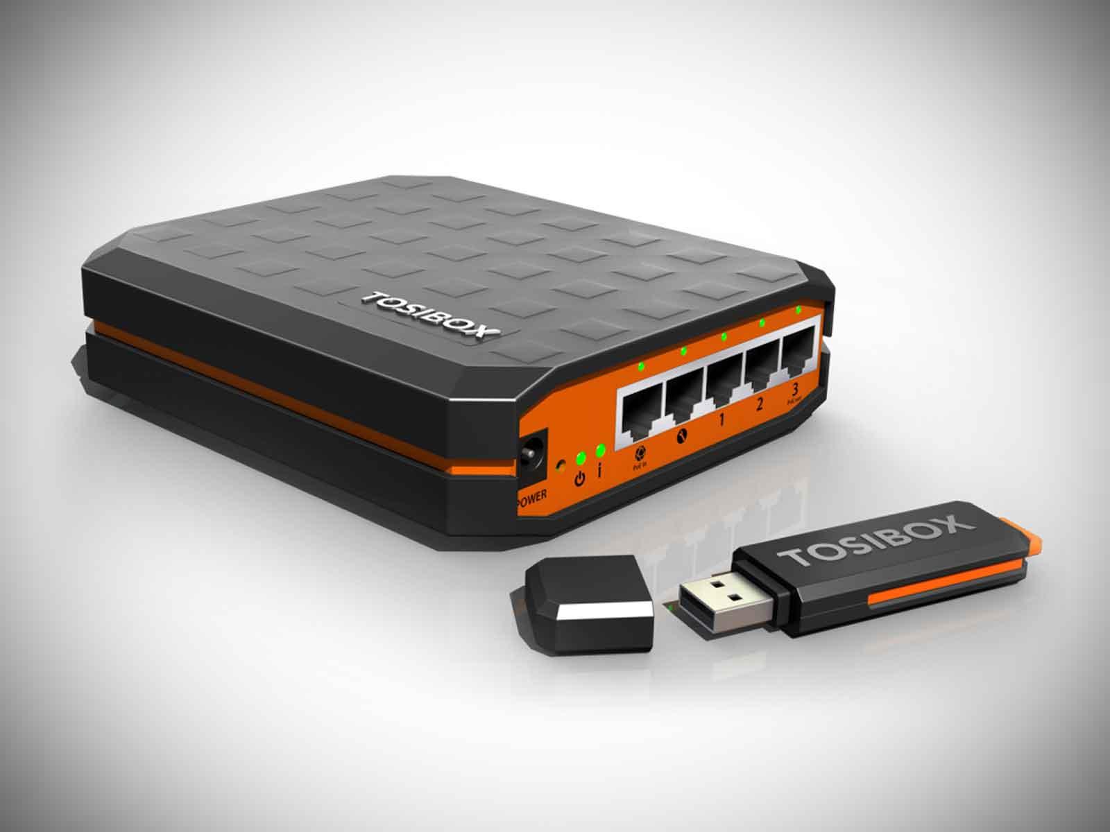 Tosibox® Lock and Key - Fernwartung mit Schildknecht AG